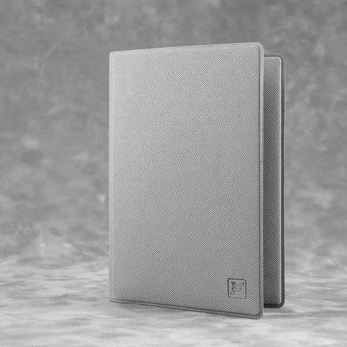 Обложка для паспорта - премиум, цвет светло-серый