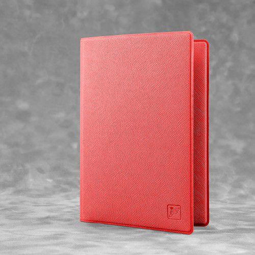 Обложка для паспорта - премиум, цвет красный