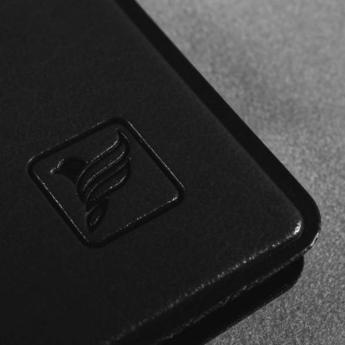 Обложка для паспорта с отделениями, цвет черный classic