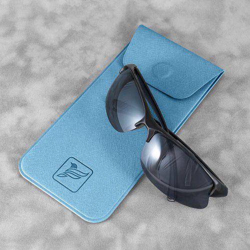 Футляр для очков, цвет голубой