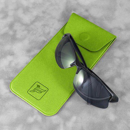 Футляр для очков, цвет зеленый