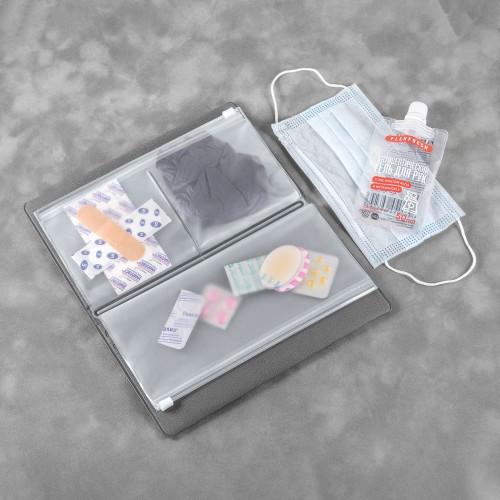 Органайзер - гигиенический набор, цвет серый