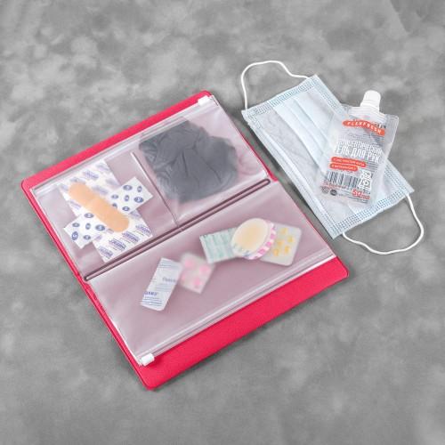 Органайзер - гигиенический набор, цвет маджента