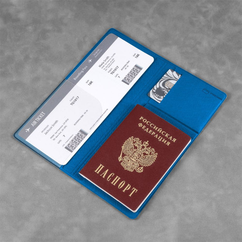 Органайзер для путешественника, цвет синий