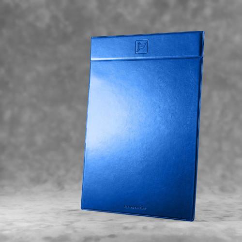 Папка планшет на магнитах, цвет синий classic