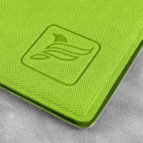 Папка классическая, цвет зеленый