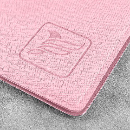 Папка классическая, цвет розовый