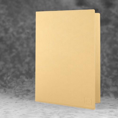 Папка классическая, цвет бежевый