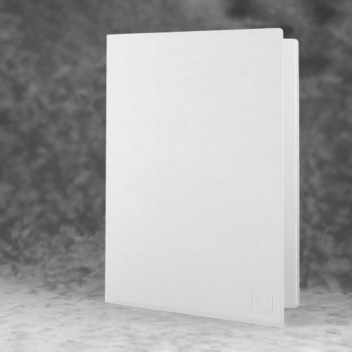 Папка классическая, цвет белый