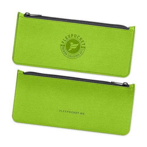 Папка-пенал, цвет зеленый