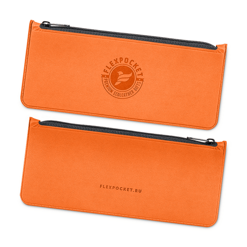 Папка-пенал, цвет оранжевый