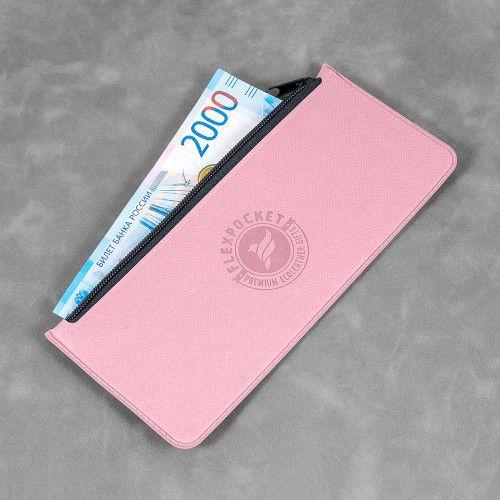 Папка-пенал, цвет розовый
