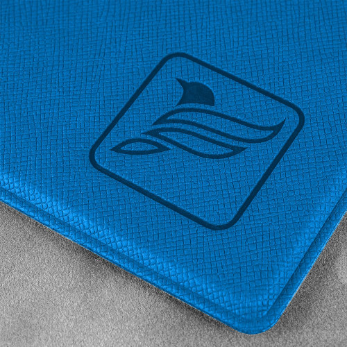 Папка планшет с крышкой, цвет синий