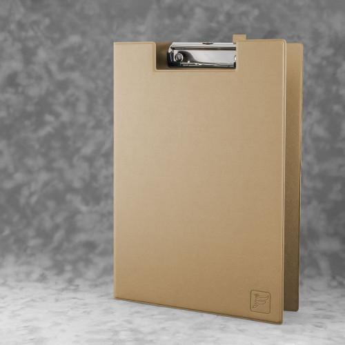 Папка планшет с крышкой, цвет бежевый