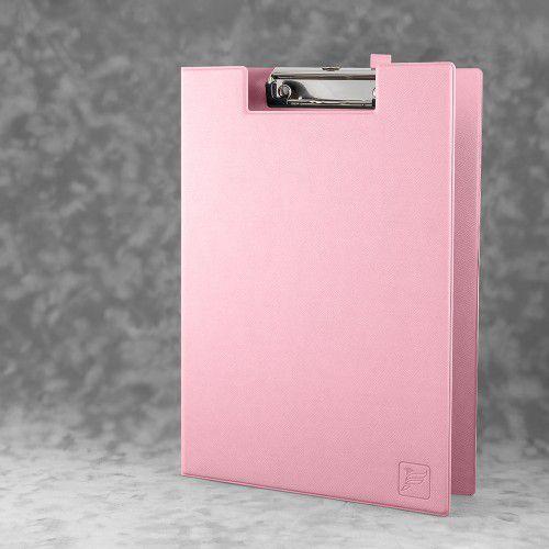 Папка планшет с крышкой, цвет розовый