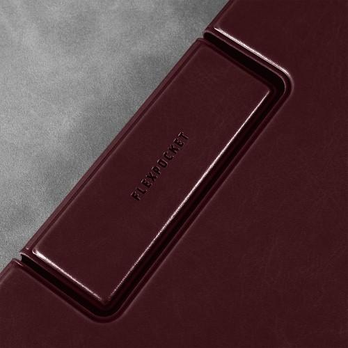 Папка-планшет с магнитным держателем, цвет коричневый classic