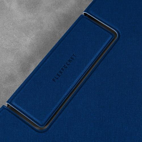 Папка-планшет с магнитным держателем, цвет темно-синий