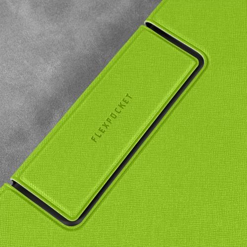 Папка-планшет с магнитным держателем, цвет зеленый