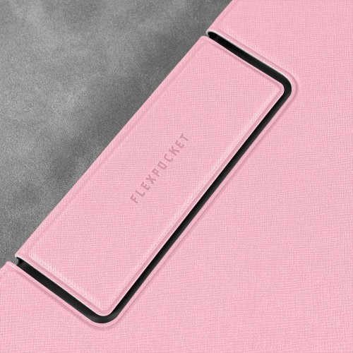 Папка-планшет с магнитным держателем, цвет розовый