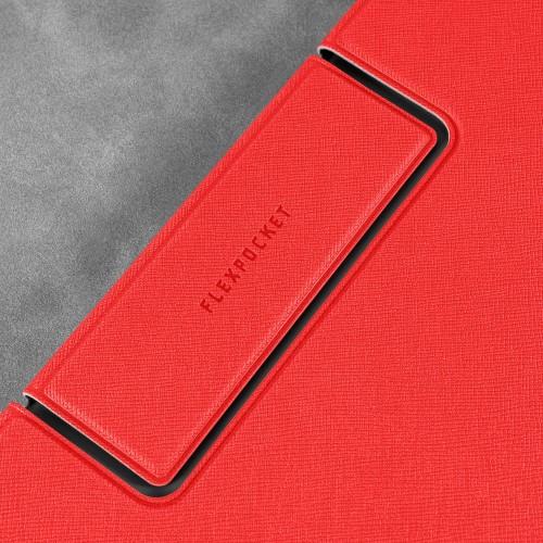Папка-планшет с магнитным держателем, цвет красный