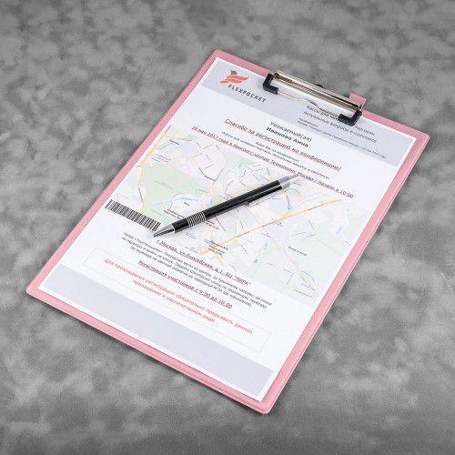 Папка планшет, цвет розовый
