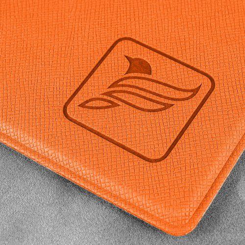 Папка планшет, цвет оранжевый