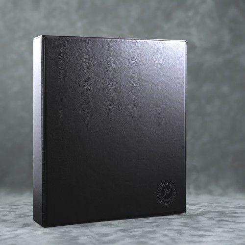 Папка на кольцах, цвет черный Classic