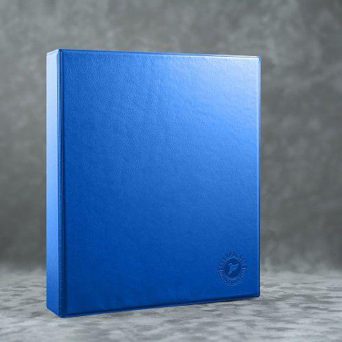 Папка на кольцах, цвет синий Classic