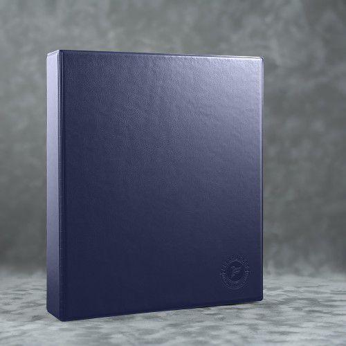 Папка на кольцах, цвет темно-синий Classic