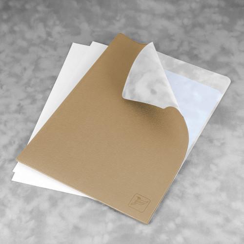 Папка-уголок, цвет бежевый