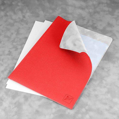 Папка-уголок, цвет красный