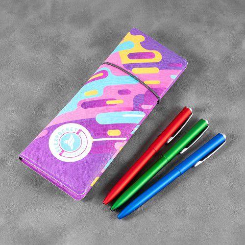 Пенал на резинке, полноцветная печать