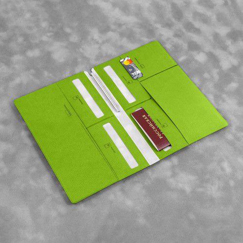 Органайзер для путешественника (семейный), цвет зеленый