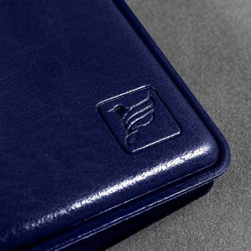 Визитница настольная, цвет темно-синий Classic