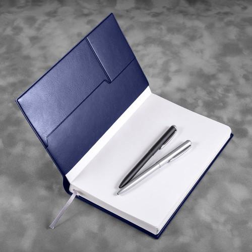 Ежедневник А5, цвет темно-синий classic