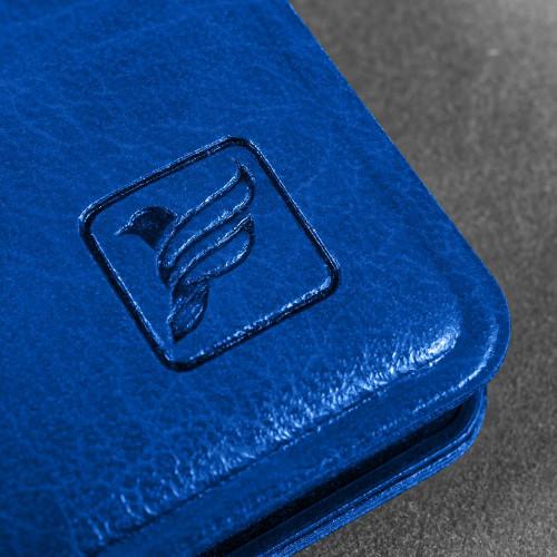 Ежедневник А5, цвет синий classic