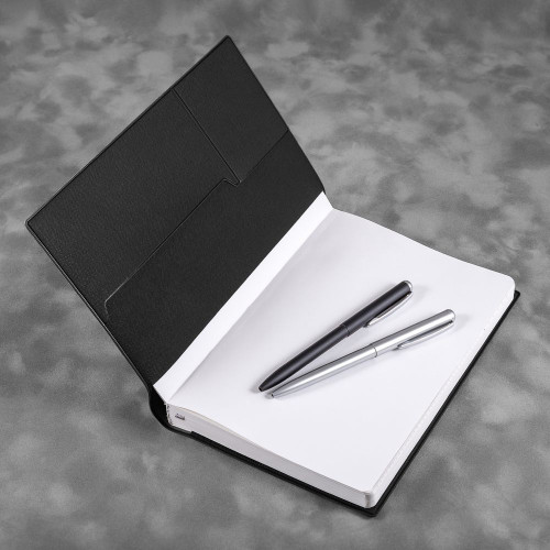 Ежедневник А5, цвет черный