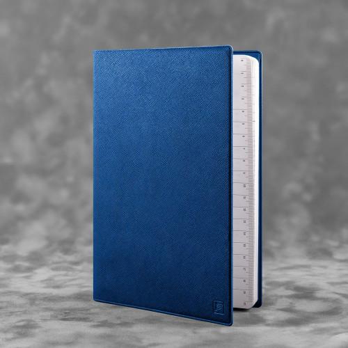 Ежедневник А5, цвет темно-синий
