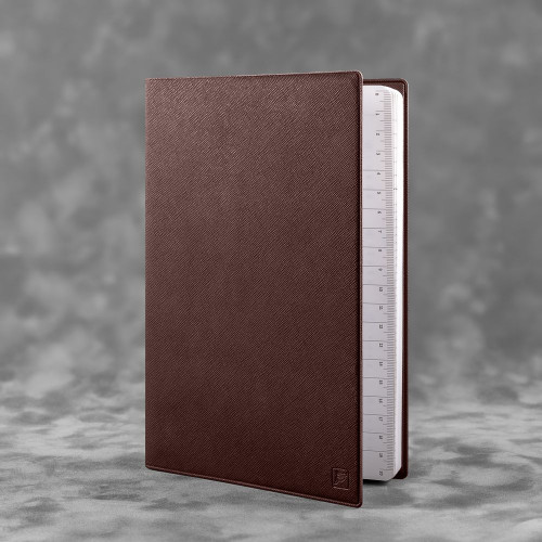 Ежедневник А5, цвет коричневый