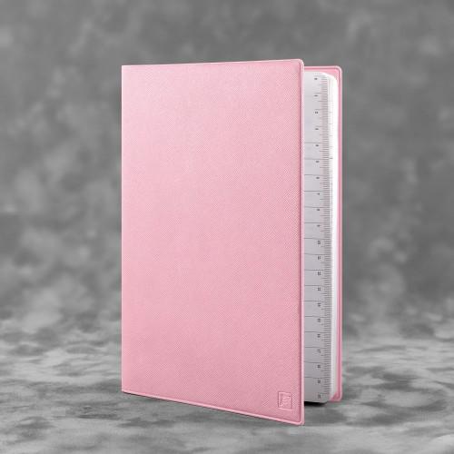 Ежедневник А5, цвет розовый