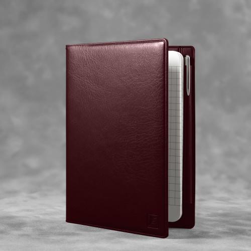 Записная книжка В7 с ручкой, цвет коричневый classic