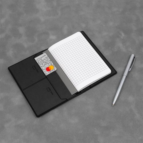 Записная книжка B7, цвет черный