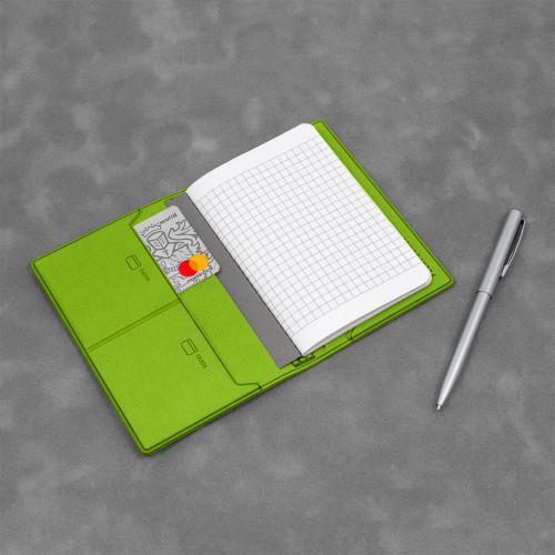 Записная книжка B7, цвет зеленый