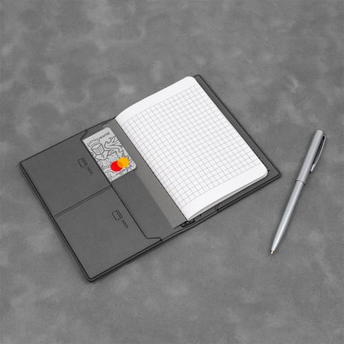 Записная книжка B7, цвет серый