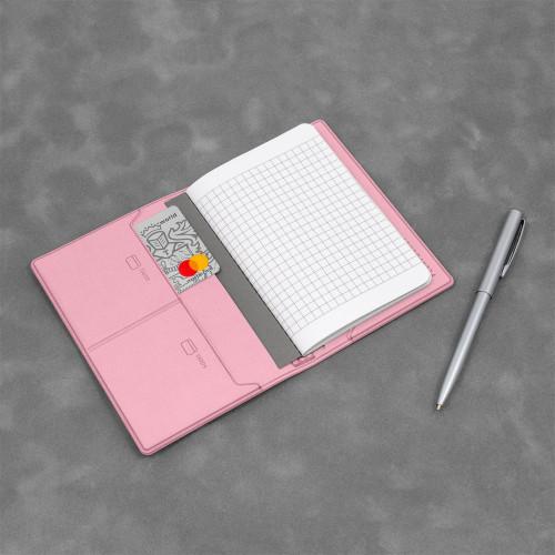 Записная книжка B7, цвет розовый