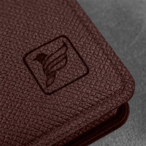 Записная книжка B7, цвет коричневый