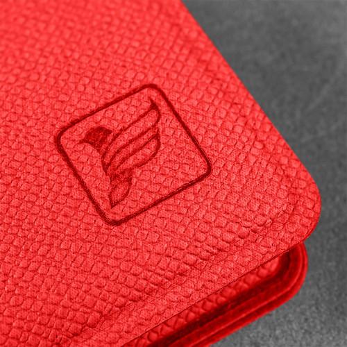 Записная книжка B7, цвет красный