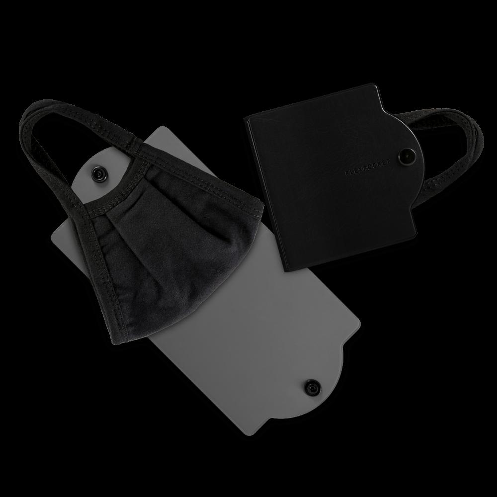 Универсальный чехол для маски, цвет черный classic