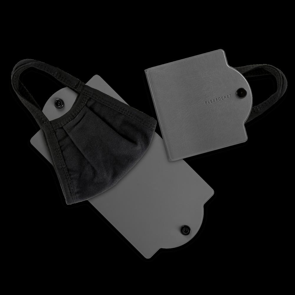Универсальный чехол для маски, цвет серый classic