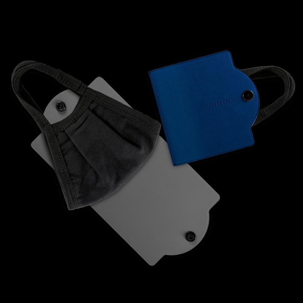 Универсальный чехол для маски, цвет темно-синий